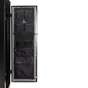 Liberty Door Panel - Fits Gun Safe Models 17 - Accessory and Organizer for Pistols, Handguns, Ammunition, Magazines, Choke Tubes and Other Security Products - Item 10584 - Black by Liberty Safe