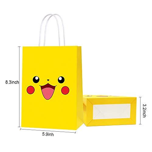 Amazon.com: Bolsas de regalo de papel para fiesta de ...