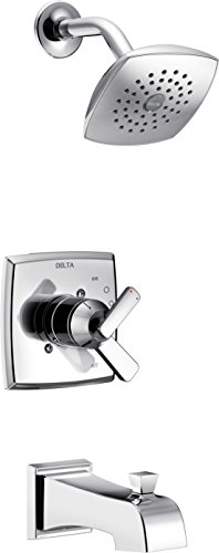 Delta T17464 Ashlyn Monitor 17 Series Tub & Shower Trim, Chrome Chrome Monitor 17 Series