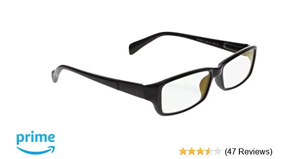Night Driving Glasses with Poly Double Sided Anti-reflective /& Scratch Coating