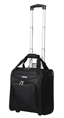 Aerolite Carry On Under Seat Wheeled Trolley Luggage Bag for American Airlines