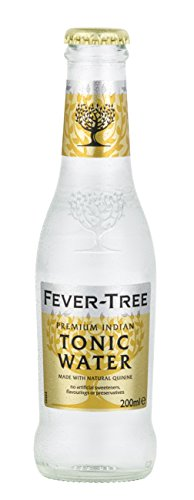 Fever-Tree Premium Indian Tonic Water, 6.8 Fl Oz Glass Bottle (24 Count) -