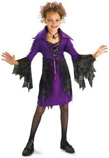 Disfraz VAMPIRESA gótica hechicera de bruja hechicera: Amazon.es ...