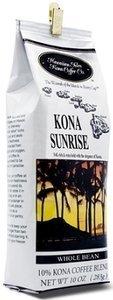 Hawaiian Isles Coffee Bean Kona Sunrise 4 / 10oz Bags -Bonus - Hawaiian Tropical Tea Bags by Hawaiian Isles - DHG_INC