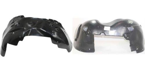 Go-Parts PAIR/SET OE Replacement for 2007-2014 Chevrolet (Chevy) Suburban Front Fender Liners (Splash Shields) Left & Right (Driver & Passenger) for Chevrolet Suburban