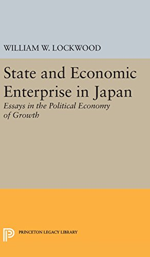 State and Economic Enterprise in Japan
