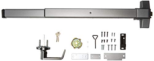 Push Bar Panic Exit Device, (UL listed) with Exterior Lever ()