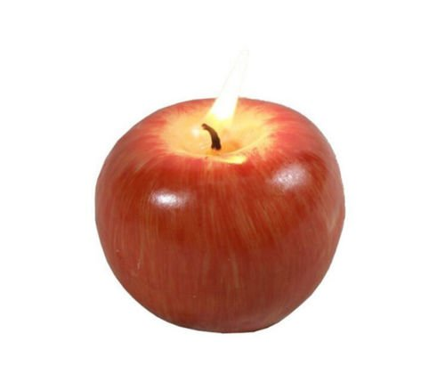 Simulation Red Apple Shaped Fragrance Candles Wedding Birthday Christmas Gift superior ZRL