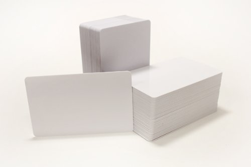 100 Blank Inkjet PVC ID Cards - Double Sided Printing