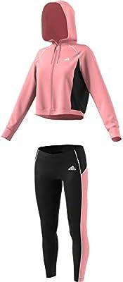 adidas W TS HD&Tght Chándal, Mujer, Glory Pink/Black/Glory Pink ...