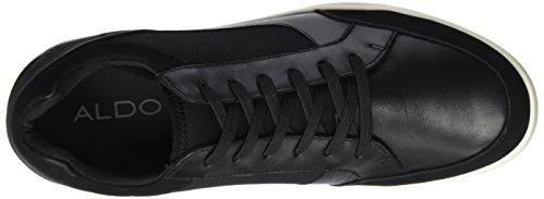Aldo Sagrani, Zapatillas para Hombre Negro (Black Leather/97)