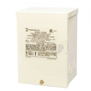 Intermatic PX300 Pool Control, 300W Pool/Spa Safety Transformer - Galvanized Steel Construction-2PK by Intermatic
