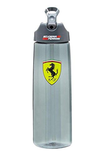 Scuderia Ferrari Formula 1 Sport Black Water Bottle - Black Ferrari Scuderia