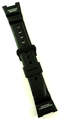 Genuine Casio Replacement Watch Strap 10304195 for Casio Watch SGW-100-1VH