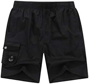 LF- 夏のメンズショートパンツコットンルーズ大きいサイズのメンズカジュアル五点パンツメンズショートパンツを着用してください 快適な (Color : Black, Size : XL)