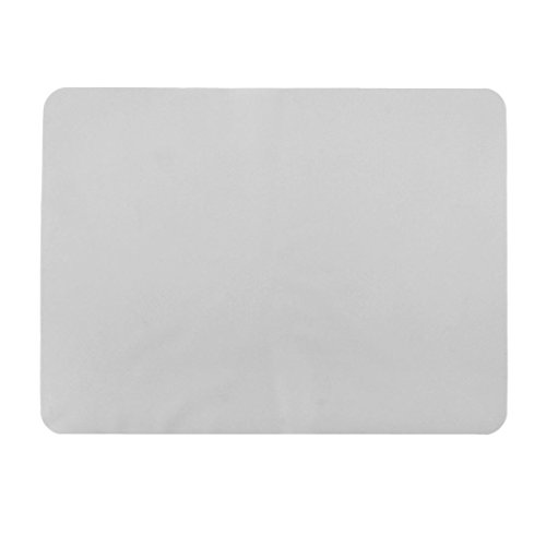 uxcell Silicone Restaurant Table Heat Resistant Mat Cushion Placemat 40 x 30cm Clear White