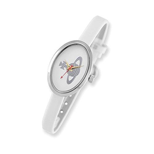 Ladies Vivienne Westwood Medal White Watch