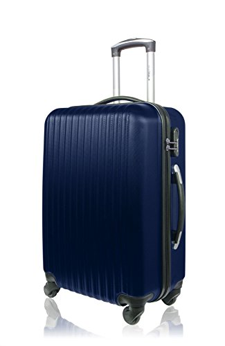 Blue Star valigia, blu navy (blu) - BD-967