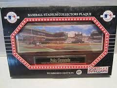 Sport Impression's Polo Grounds Baseball Stadium Collectors Plaque (New) Numbered Edition (Stadium Plaque)