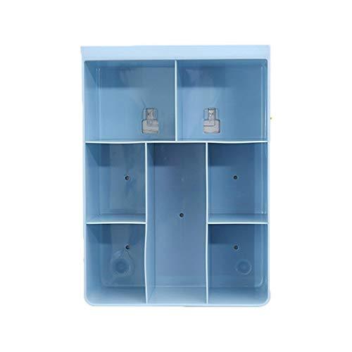 Todens 1PC Cosmetics Shelf Wall Storage Box Reusable Home Hanging Storage ()
