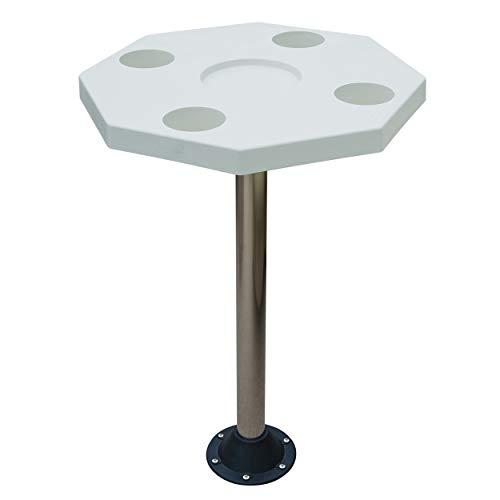 JIF Marine Octagonal Ivory Table KIT