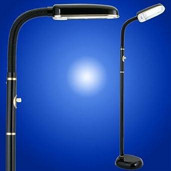 Bluemax 42 Watt Task Floor Lamp Nickel Black Bluemax Lighting Amazon Com