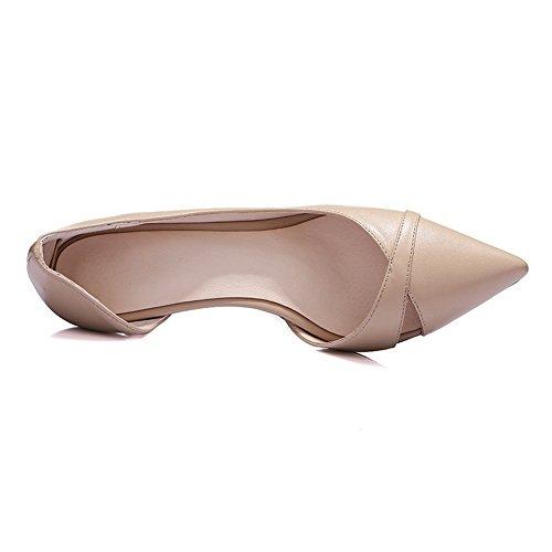 Adee - Sandalias de vestir para mujer rosa grisáceo claro