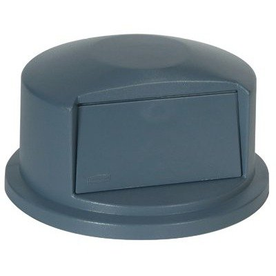 Brute Round Container Lids - gray duramold brute dometop f/2