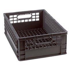 Merveilleux Half Milk Crate 1/2 Grey Storage Bin