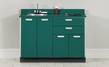 CLINTON MANAGED CARE QUICK CABINETS 48'' long base cabinet Item# 8048