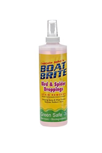 - Captain John's Boat Brite Bird and Spider Dropping Cleaner