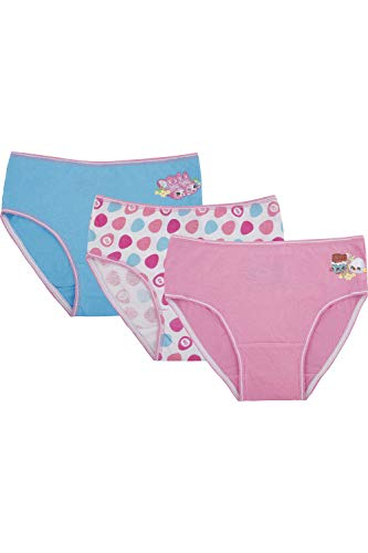 Shopkins Girls' Little Easter Holiday Pastel' 3 Pack Brief Underwear, Multi, 6 for $<!--$5.00-->