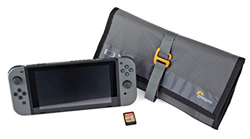 - Lowepro GearUp Switch Wrap DLX: Soft Case Designed to Carry and Protect Nintendo Switch Screen, Controller and Game Cards