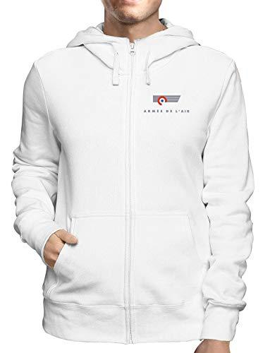 Zip De Sweatshirt Blanc Francaise L Usa Armee Tm0369 A Air Capuche EqqU4Z