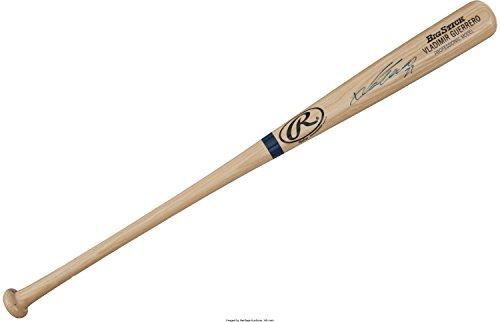Signed Big Stick Bat - VLADIMIR GUERRERO SIGNED RAWLINGS BIG STICK BAT + TUBE EXPOS ANGELS w/ PSA COA