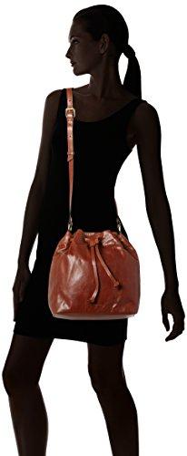 Royal RepubliQ Bucket Handbag, Borse a spalla Donna Marrone (Cognac)