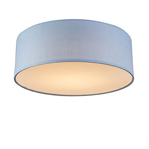 QAZQA Modern Deckenleuchte/Deckenlampe/Lampe/Leuchte Drum mit Schirm ...
