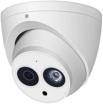 6MP Security POE IP Camera Turret, OEM IPC-HDW4631C-A, Outdoor CCTV Video Surveillance System Camera, IR Night Vision, Smart H.265, IP67 Weatherproof, ONVIF