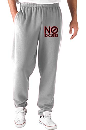 T Pantaloni No Tuta Excuses shirtshock Grigio Oldeng00198 TTPrxHqv