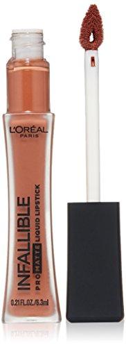 Lipstick Liquid Cosmetics (L'Oreal Paris Makeup Infallible Pro-Matte High Pigment, Long Wear Liquid Lipstick, 358 Cowboy, 0.21 fl. oz.)