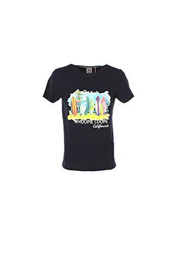T-shirt Uomo Whoopie Loopie XL Blu Wm17s17tg Primavera Estate 2017