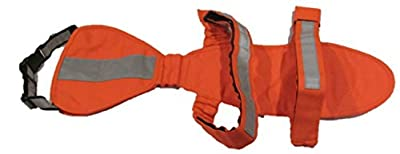 DOGonGEAR Dog hunting Vest (UnderBelly & Chest Protection) Large 55 lb to 90 lb Safety Orange