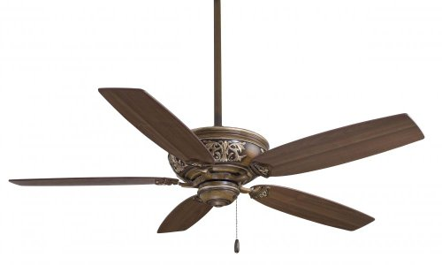 Minka-Aire F659-BCW, Classica 54 Ceiling Fan, Belcaro Walnut Finish with Dark Walnut Blades