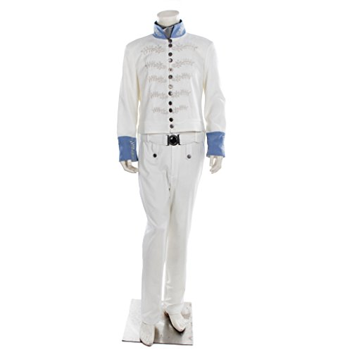 CosplayDiy Men's Costume Suit for Cinderella Prince Charming Cosplay L