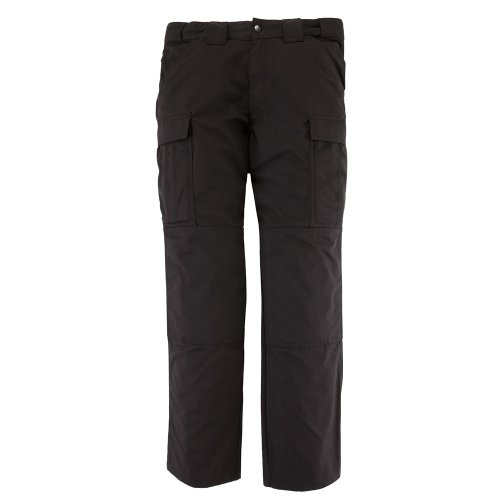 5.11 Tactical Men's Twill TDU Pants, Black, X-Large Short