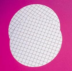 GE Whatman 7141-154 Mixed Cellulose Ester Membrane without Pad, Sterile, WME Range, Circle, Black Gridded, 0.45µm Pore Size, 47mm Diameter (Pack of 1000) by Whatman