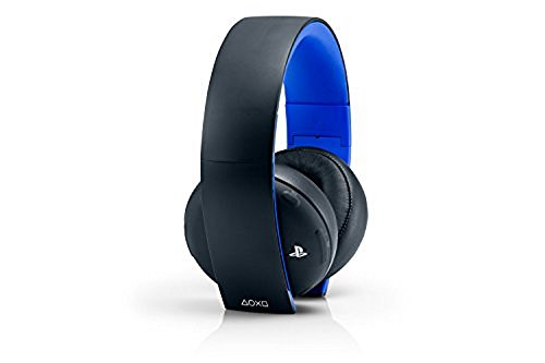 PlayStation Gold Wireless Stereo Headset - Jet Black Old Model