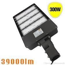 LED 300w High Voltage LED Street Light,Road Lamp,Parking Lots Pole LED Outdoor Site and Area Light,Shoe Box Light,40000L,5000k,DLC ETL by USA-LED