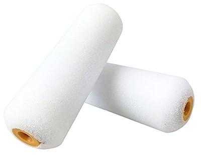 Shur-Line 4940C 4-Inch Foam Mini Roller Refills, 2-Pack