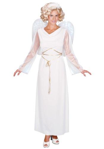 Angel Halloween Costume Adult Standard Size (Angel Costumes For Women)